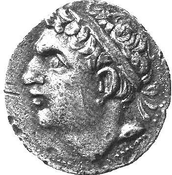 Hasdrubal Barca's head, before the Romans got it