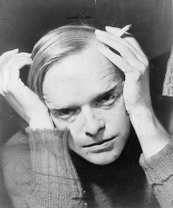 Truman Capote making stuff up