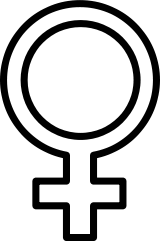 160px-Female.svg